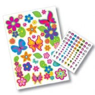 Fashion Tagz Styling Stickers - Petals & Wings